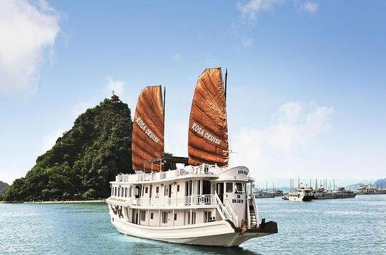 Ha Long 2 day 1nite from Ha Noi with Rosa Cruise