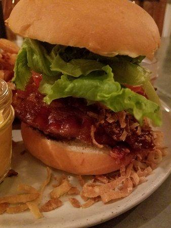 Street Burger ภาพถ่าย
