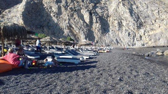 Perissa Beach Photo
