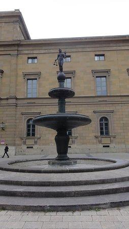 Residenz: Posąg Kronprinz-Rupprecht-Brunnen