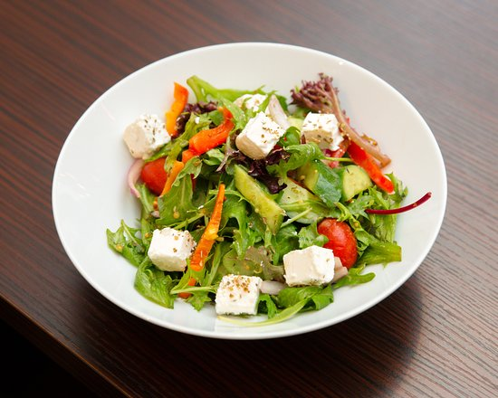 Concord, Australia: Mixed Leaf Salad with Feta & Olives