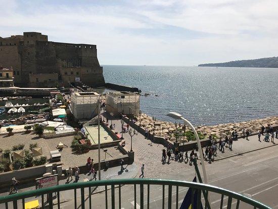 Grand Hotel Vesuvio: View from our room