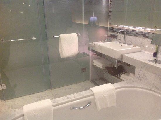 The Grand Tarabya: В номере 2 душевые и ванная