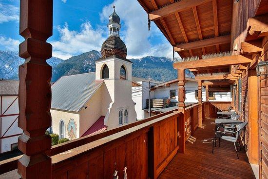 Hotel Pension Anna: patio