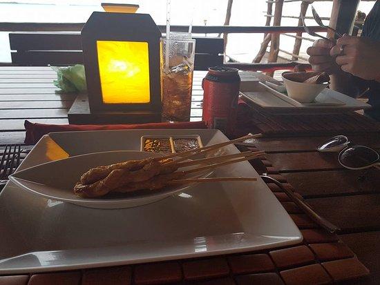 Thai Lounge: Chicken satays