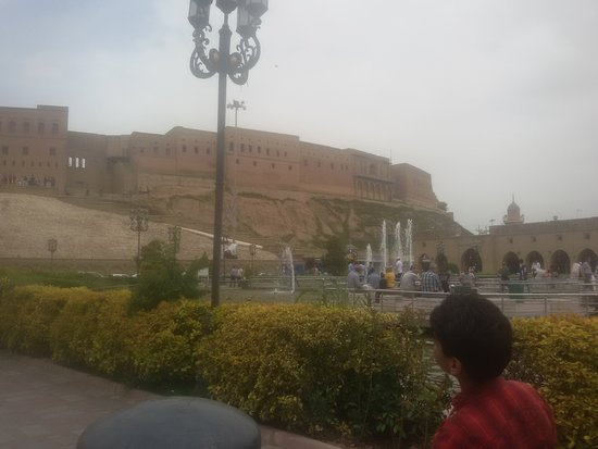 Erbil Citadel: The Citadel really over looks the city!
