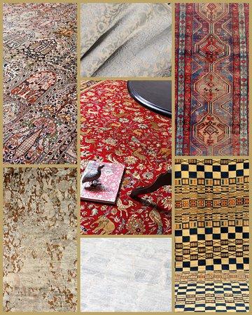 The Carpet Cellar: luxury pashmina stoles, saddlebags, tribal rugs, Modern rugs