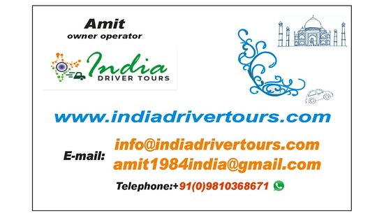 India Driver Tours