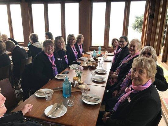 Port Elliot, Australien: Morning Tea on the table for the GumFlappers