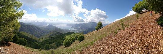 Province of Verbano-Cusio-Ossola, Itália: salita al monte faiè