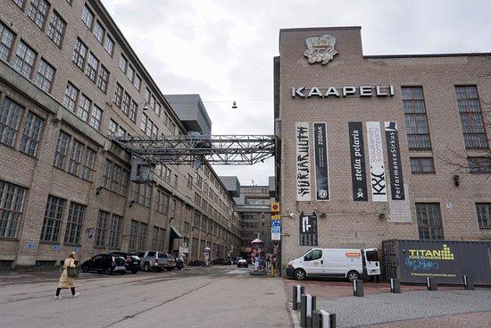 入り口付近 Kuva Kaapelitehdas Helsinki Tripadvisor