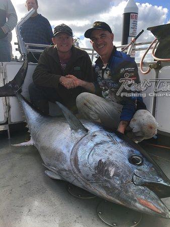 Reel Time Fishing Charters: Fishing in Portland with Matt Cini Mat 19 th 2018