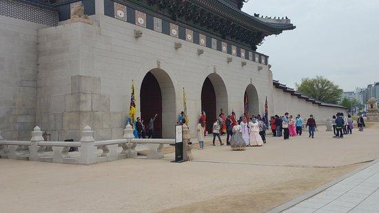 Παλάτι Gyeongbokgung: Entrance to the palace