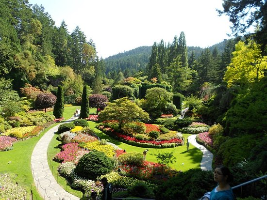 Kuzey Vancouver, Kanada: a great landscaped park