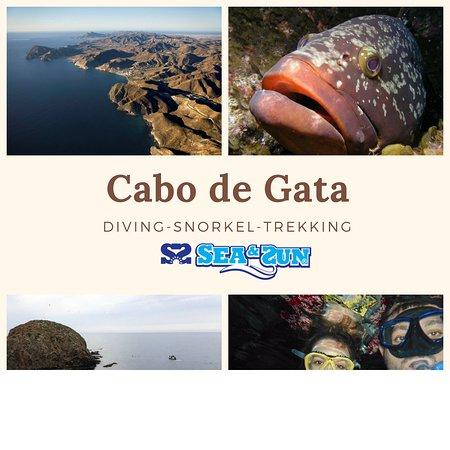 La Isleta, สเปน: centro de buceo en Cabo de Gata snorkel buceo y trekking