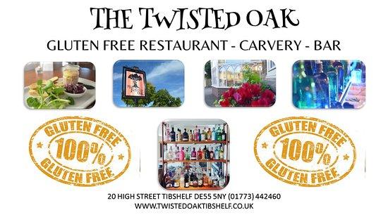 Tibshelf, UK: GLUTEN FREE RESTAURANT
