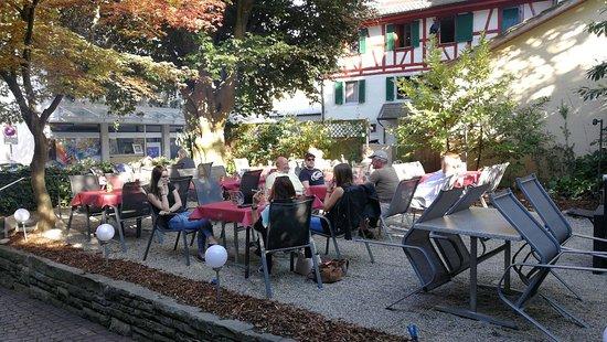 Waedenswil, Sveits: Restaurant Zum Leue