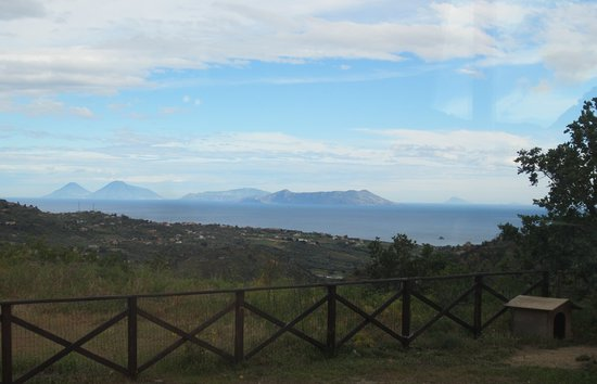 Librizzi, Italie : View from the dining room