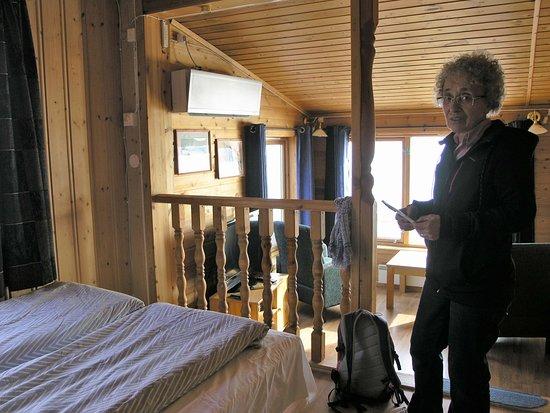 Bogen i Ofoten, Noruega: Letto e soggiorno