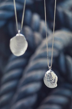 Skúmaskot: Silver jewelry inspired by nature by Eddó Design