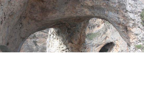 Villalba de la Sierra, Spanien: Vista de la entrada del Mirador
