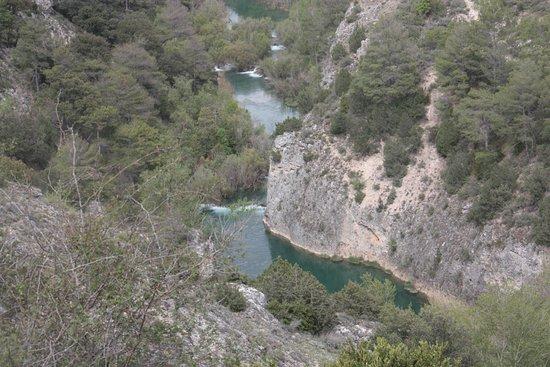 Villalba de la Sierra, Spain: Vista de la Hoz desde Ventano del Diablo