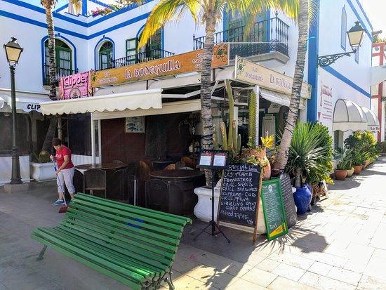 la bodeguilla juanana: View from table