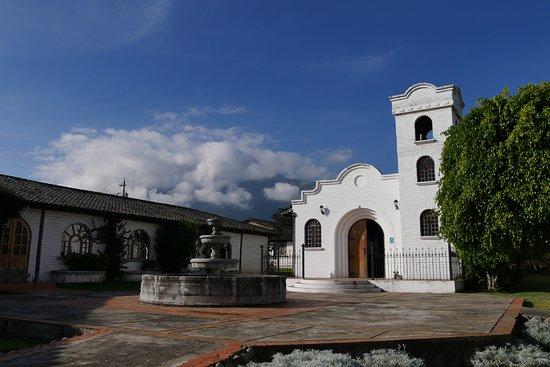 Atuntaqui, Équateur : la chapelle dans l'hôtel