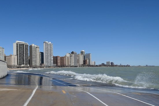 Chicago Bike Rental: An amphibious section of my ride. Loved it!