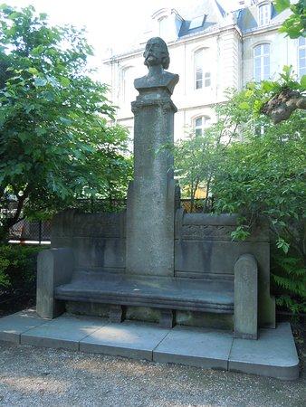 Le Buste de Gustave Flaubert