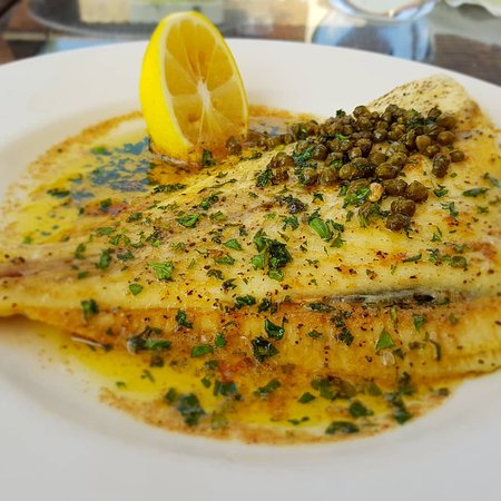 The Allerton: Fantastic plaice with butter and capers