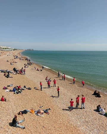 Brighton Palace Pier: View from Pier