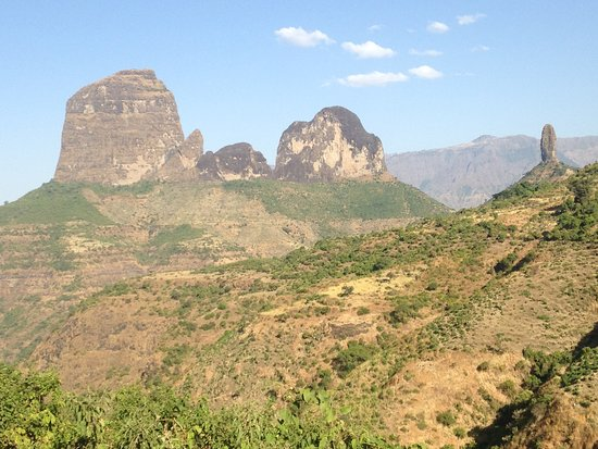 Gonder, إثيوبيا: Stunning lowlands with hike in ethiopia