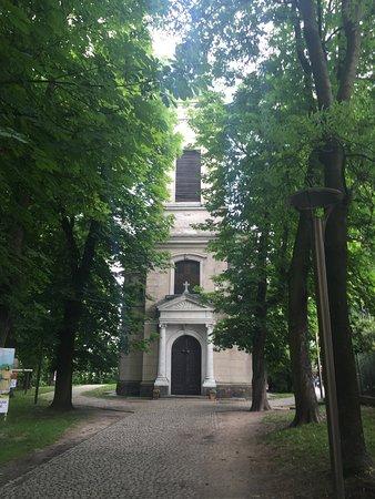 Czersk Castle (Zamek Czersk): Kościół z XIX w. nieco pomijany