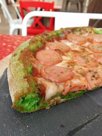 Panagyurishte, بلغاريا: GREEN PIZZA