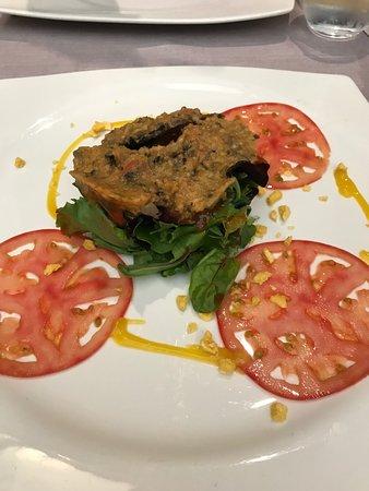 Restaurante Palencia de Lara: ensalada de venao