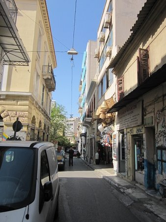 Arion Athens Hotel: The street at the Arion