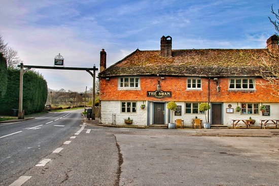The Swan and hay arch in Fittleworth