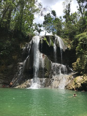San Sebastian, Puerto Rico: Lower waterfall