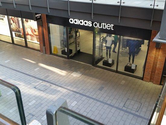 Adidas Outlet at the London Designer Outlet, Wembley, London