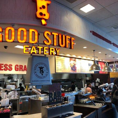 Good Stuff Eatery - DCA: Good Stuff!!