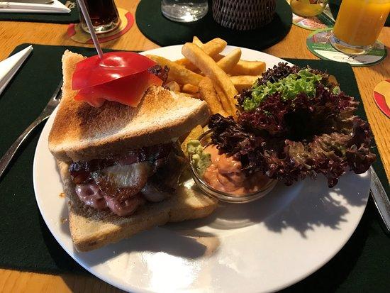 Murau, Austria: Steaktoast