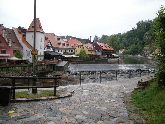 Česky Krumlov day trip: Český Krumlov paesaggio