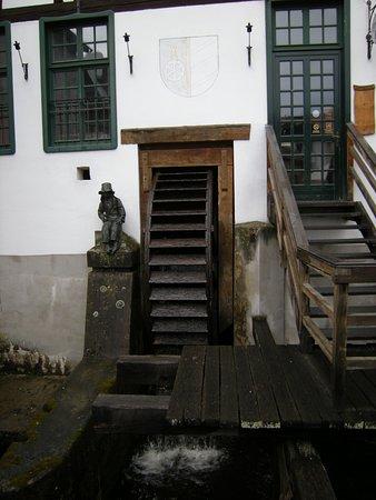Česky Krumlov day trip: Český Krumlov, mulino del paese