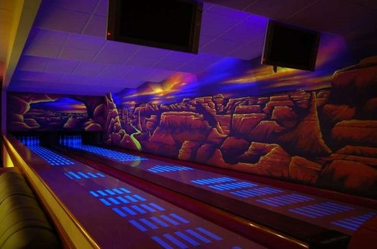 Zamberk, Tjeckien: Bowling