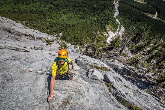 Your chief guide at Canadian Rockies Mountain Guides