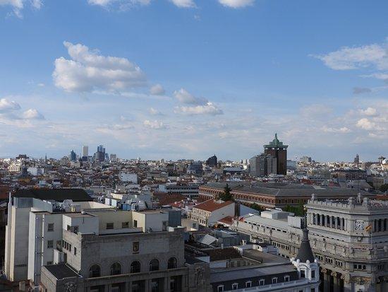 Circulo de Bellas Artes: vista della città