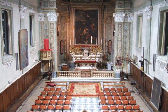 Albissola Marina, Ιταλία: Interno Oratorio San Giuseppe