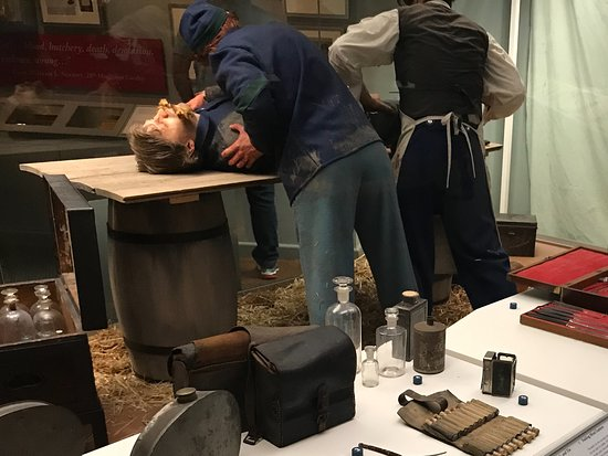 National Civil War Museum: Surgery in the field