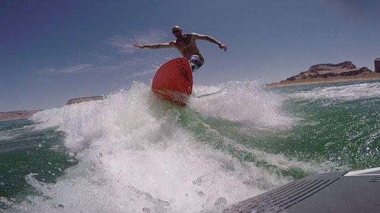Surf Lake Powell: Surf Boat Rental, Lake Powell, Page, AZ